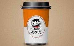 大口九奶茶加盟店的消费